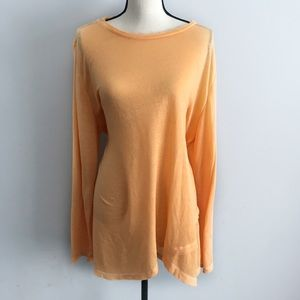 Soft Surroundings palisades pull over tunic peach
